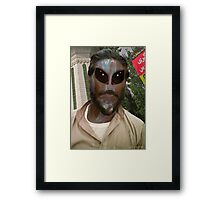 24TH Century Extraterrestrial Colonist in Pakistan Framed Print