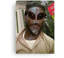 24TH Century Extraterrestrial Colonist in Pakistan Canvas Print