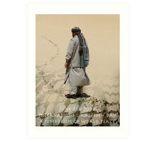June 6TH 2008 International Kaffiyeh Day Art Print