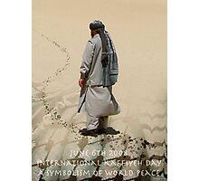 June 6TH 2008 International Kaffiyeh Day Photographic Print