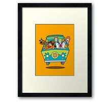 scooby doo Framed Print