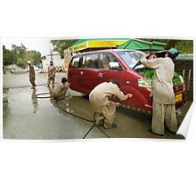 Pakistani Hoverwash, Service with a Smile Poster