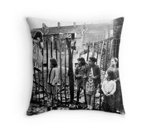 East End Kids Throw Pillow