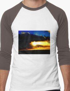 When the sun breaks through Men's Baseball ¾ T-Shirt