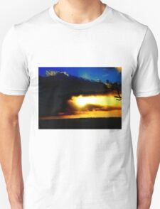 When the sun breaks through Unisex T-Shirt