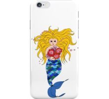 Mermaid: Bouquet Delivery iPhone Case/Skin