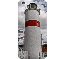 Cooperstown Marina Lighthouse iPhone Case/Skin