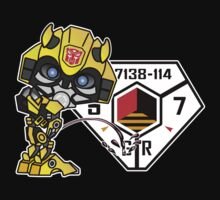 Bumblebee Peeing - Sector 7 v2 One Piece - Long Sleeve