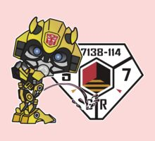 Bumblebee Peeing - Sector 7 v2 Kids Clothes