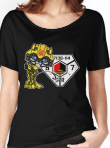 Bumblebee Peeing - Sector 7 v2 Women's Relaxed Fit T-Shirt