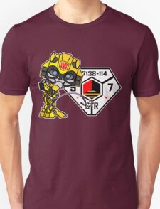 Bumblebee Peeing - Sector 7 v2 Unisex T-Shirt