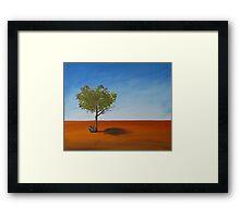 Outback horizon  Framed Print