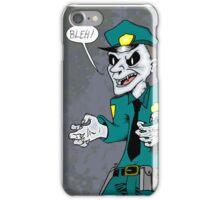 Vampire cop iPhone Case/Skin