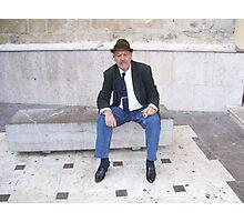 """ Manuel, the gentleman "" Photographic Print"