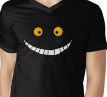 Cheshire Cat Smile Mens V-Neck T-Shirt