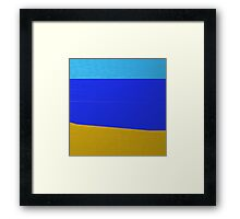 The beach. Framed Print