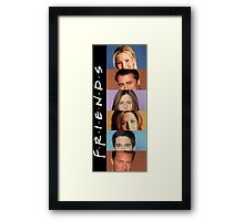 Friends - photos Framed Print
