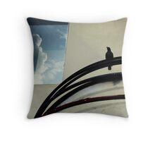arabstreet awning Throw Pillow