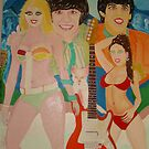 The Beatles & Sisters Australiana 1964 : Romance by Sunil