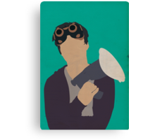 Ezekiel Jones - The Librarians Canvas Print