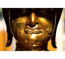 Buddha face Photographic Print