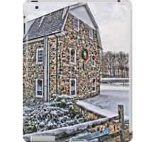 First Snow at the Mill iPad Case/Skin