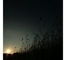 Encroaching night Photographic Print