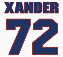 National baseball player Xander Bogaerts jersey 72 by imsport