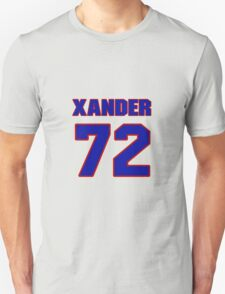 National baseball player Xander Bogaerts jersey 72 T-Shirt