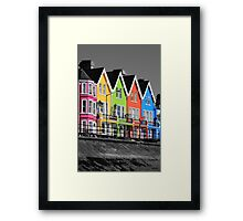 Psychedelic Terrace Framed Print