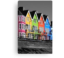 Psychedelic Terrace Canvas Print