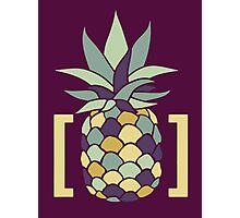 Reddit r/trees Pineapple in Brackets Design Photographic Print