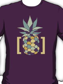 Reddit r/trees Pineapple in Brackets Design T-Shirt