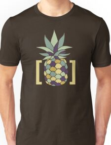 Reddit r/trees Pineapple in Brackets Design Unisex T-Shirt