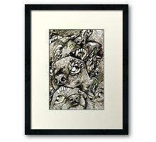Battle Dogs Framed Print