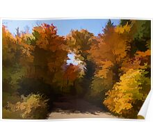 Sunny, Warm and Colorful - Autumn Impressions Poster