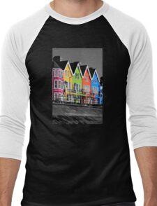 Psychedelic Terrace Men's Baseball ¾ T-Shirt