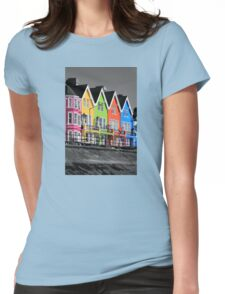Psychedelic Terrace Womens Fitted T-Shirt