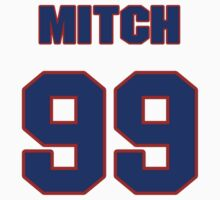 National baseball player Mitch Williams jersey 99 T-Shirt