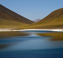 Lake in Atacama Desert by seguel
