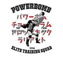 Powerbomb Elite Training Squad Photographic Print