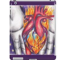 My Heart Burns for You iPad Case/Skin