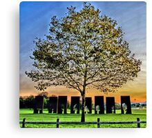 One Positive Eight Negatives Canvas Print