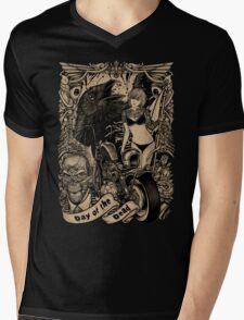 Winya No. 32 Mens V-Neck T-Shirt