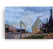 Steelstacks Campus Canvas Print