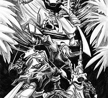 Ninja Tom - The Big Brawl 2 by shiro