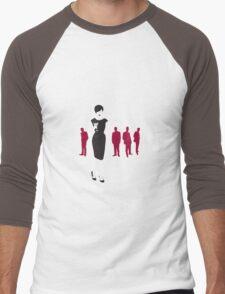 Sixties Siren Men's Baseball ¾ T-Shirt