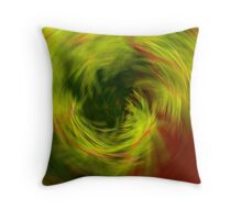 pine cyclone Throw Pillow