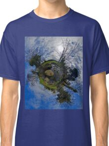 Stepping Stones Across Kilkeel River, County Down Classic T-Shirt