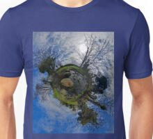 Stepping Stones Across Kilkeel River, County Down Unisex T-Shirt